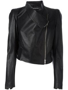 байкерская куртка на молнии Ann Demeulemeester Blanche