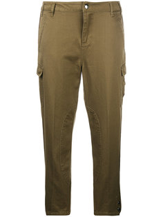 укороченные брюки карго Twin-Set