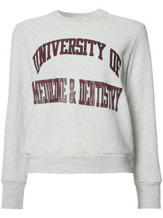 University of Medicine & Dentistry sweatshirt Re/Done