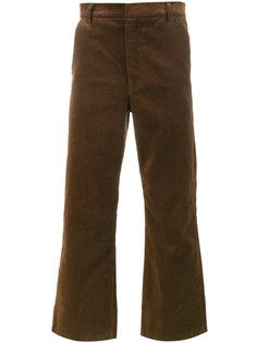 укороченные вельветовые брюки  Martine Rose