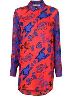 """рубашка с цифровым узором """"пейсли"""" Mary Katrantzou"""