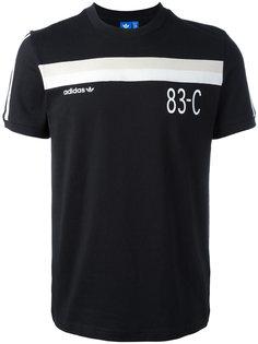 футболка с контрастной полосой Adidas Originals