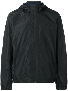 logo patch hooded jacket Paul Smith London