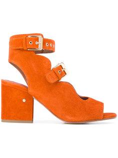 ботинки с вырезными деталями и пряжками Laurence Dacade