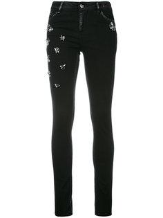 декорированные джинсы скинни Twin-Set