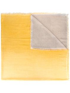 тканый шарф с контрастными панелями Faliero Sarti