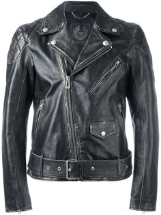 байкерская куртка с эффектом потертости Belstaff