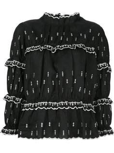 топ с вышивкой Daniela Isabel Marant Étoile
