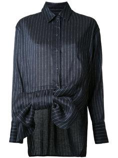 рубашка в полоску с бантом Victoria Victoria Beckham
