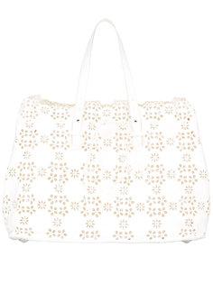 сумка-тоут с перфорацией Simone Rocha