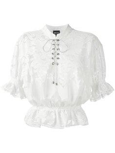 кружевная блузка  Just Cavalli