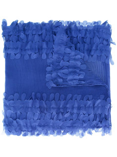 плиссированный платок Armani Collezioni