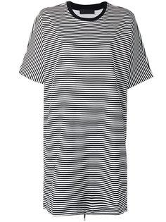 полосатое платье-футболка Diesel Black Gold