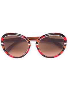 солнцезащитные очки в крупной оправе Emilio Pucci