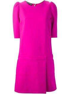 платье с двухслойной юбкой  Rochas