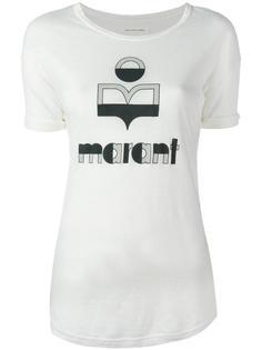 футболка с принтом логотипа  Isabel Marant Étoile