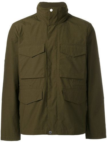 patch pocket hooded jacket Paul Smith London