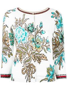 декорированный кардиган с цветочным узором Twin-Set