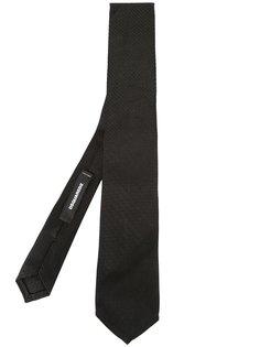 галстук с вышивкой Dsquared2