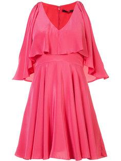 ruffle detail mini-dress Jay Godfrey