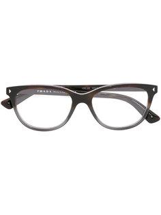 оптические очки в квадратной оправе  Prada Eyewear