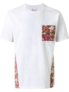 футболка с камуфляжным принтом  White Mountaineering