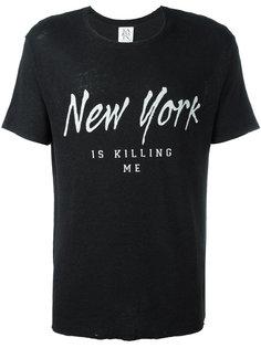 футболка New York Is Killing Me  Zoe Karssen