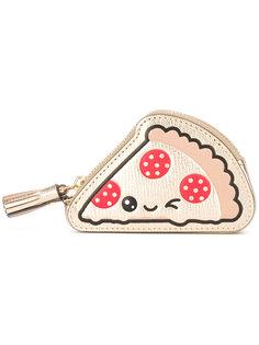 кошелек в виде пиццы Anya Hindmarch