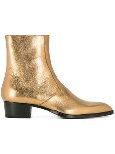 ботинки Wyatt 40 Chelsea на молнии Saint Laurent