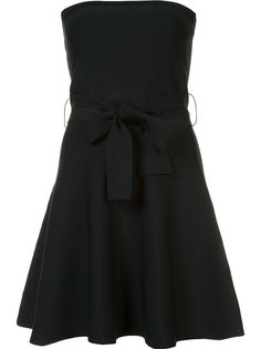 strapless mini-dress  C/Meo