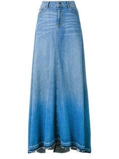 длинная джинсовая юбка Twin-Set