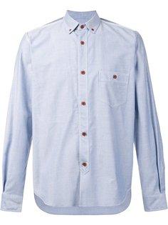 рубашка с контрастными пуговицами Junya Watanabe Comme Des Garçons Man