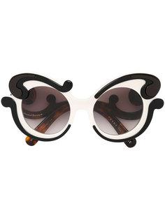 """солнцезащитные очки """"Minimal Baroque"""" Prada Eyewear"""