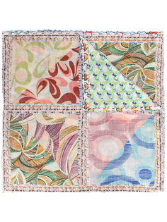 шарф с абстрактным принтом Faliero Sarti