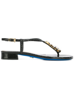 crystal embellished sandals  Loriblu