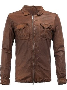 zipped shirt jacket Giorgio Brato