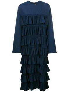 платье с рюшами Marni