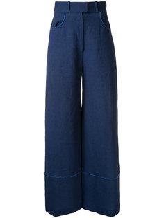 брюки с необработанными краями Martin Grant