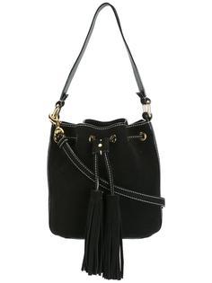 сумка-тоут с декоративной строчкой Moschino