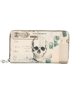 континентальный кошелек Letters From India Alexander McQueen