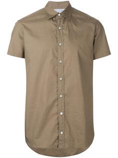 рубашка с вышивкой на воротнике Kolor