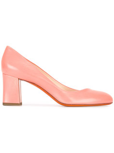 chunky heel pumps  Santoni