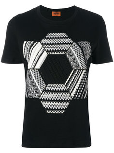 knitted patch T-shirt Missoni