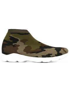 camouflage trainers Mm6 Maison Margiela