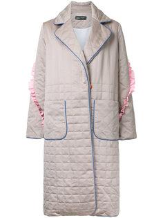 стеганое пальто  Anna October