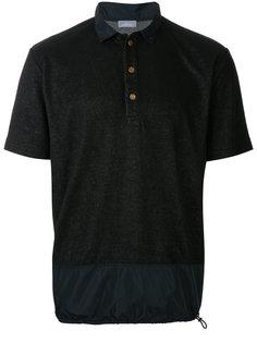 рубашка-поло с подолом на завязках Kolor