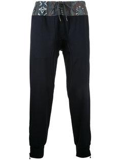 спортивные брюки с цветочным принтом Kolor