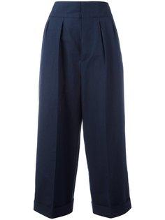 укороченные классические брюки Marni
