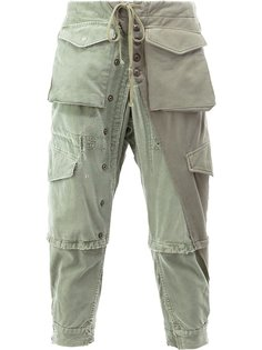 cargo cropped trousers Greg Lauren