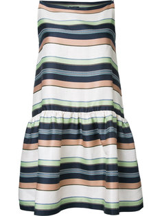 полосатое платье Jil Sander Navy